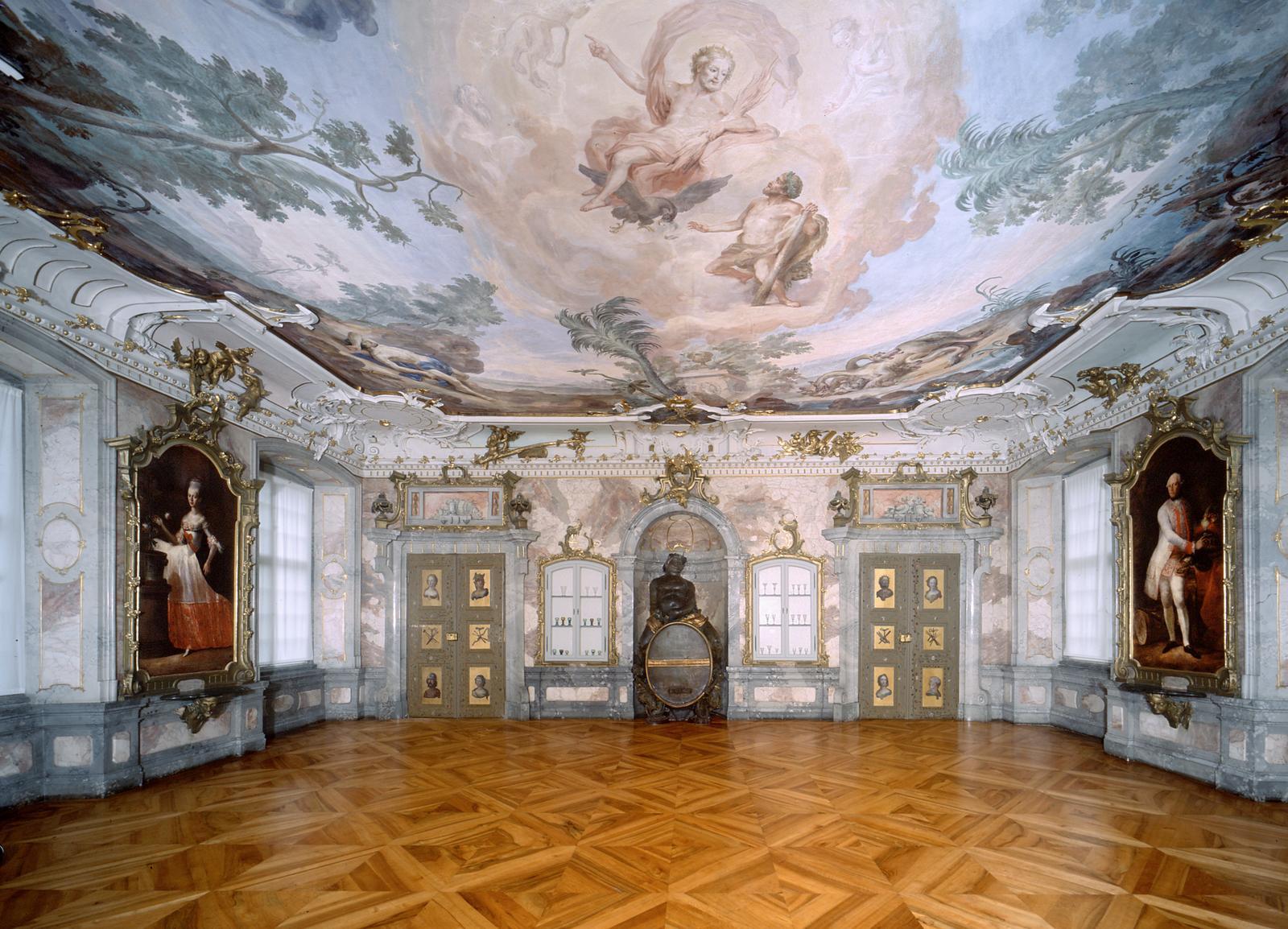 Neues Schloss Tettnang, Bacchussaal